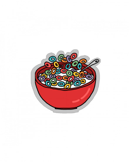 Acrylic POPSTAND - Cereal Bowl