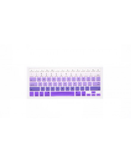 Pastel Gradient Keyboard Cover - Lilac