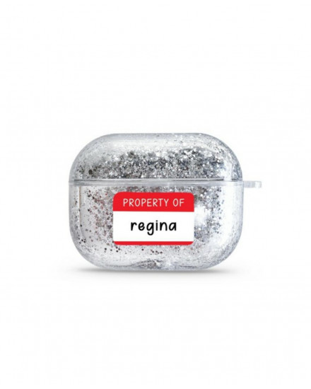 PROPERTY OF - GLITTER AIRPODS CASE