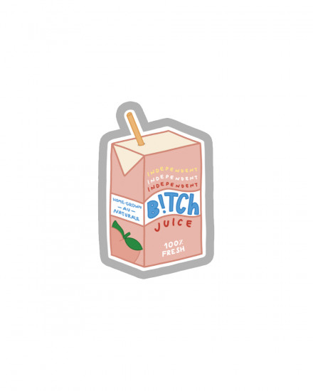 Acrylic POPSTAND - Independent Peach