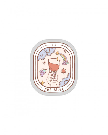 Acrylic POPSTAND - The Wine