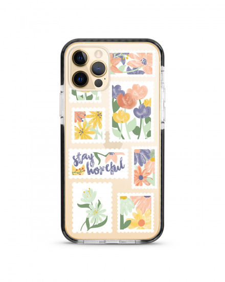 X-TECH BUMPER CASE - Flower Stamps
