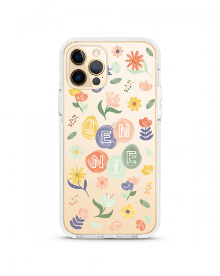 X-TECH BUMPER CASE - Flower