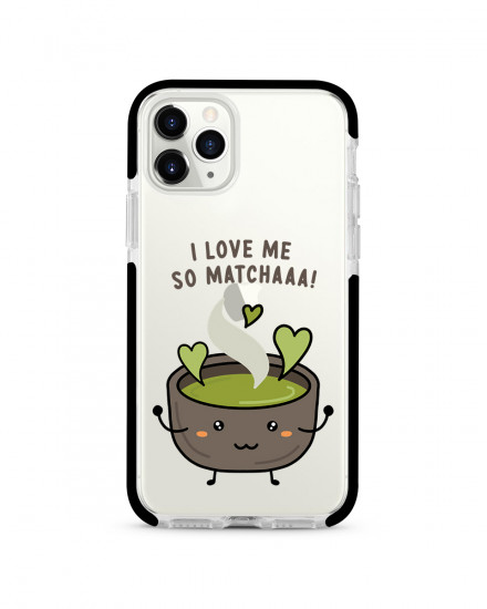 X-TECH BUMPER CASE - Love Me So Matcha