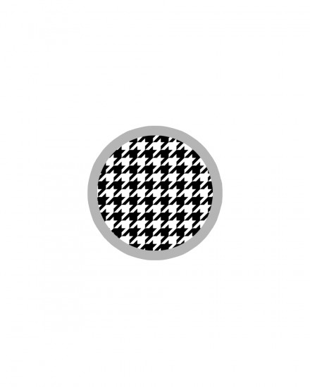 Acrylic POPSTAND - Houndstooth Black