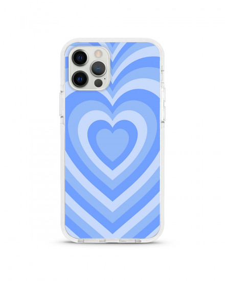 X-TECH BUMPER CASE - Bubblegum Hearts