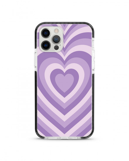X-TECH BUMPER CASE - Ube Hearts
