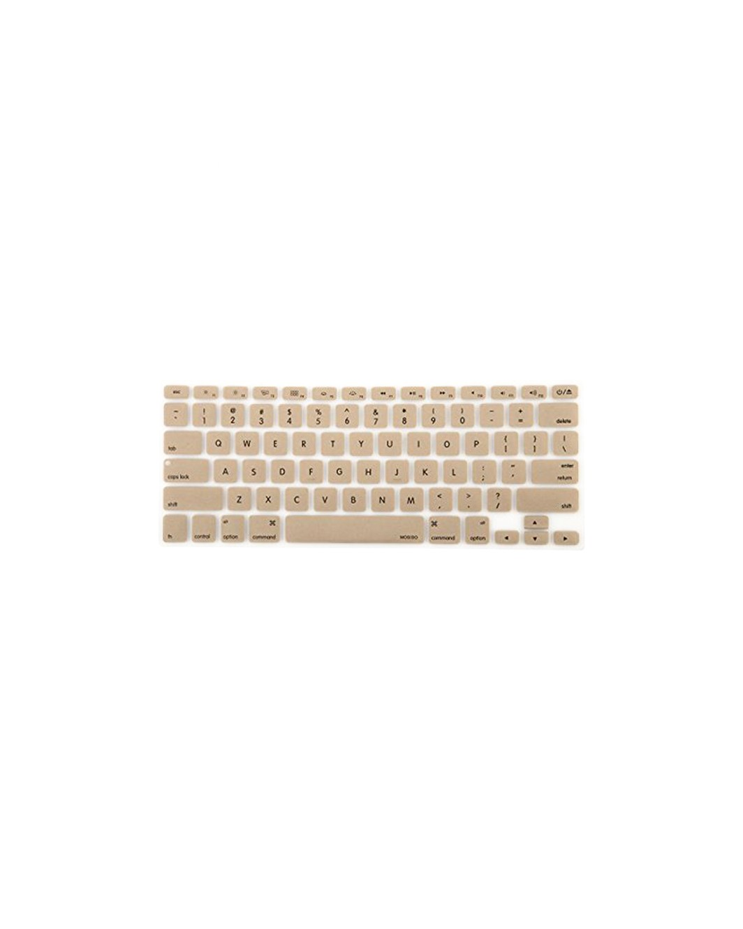 Gold Keyboard Cover