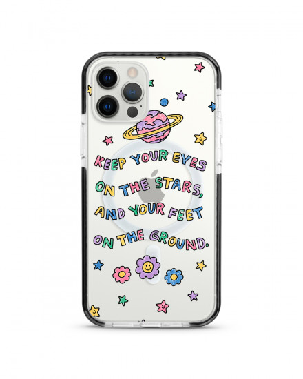 MAGSAFE X-TECH BUMPER CASE - Eyes On The Stars