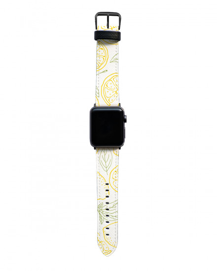 Black Marble - Apple Watch Strap