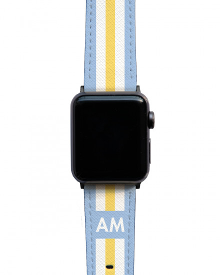 Initial Lines - Apple Watch Strap