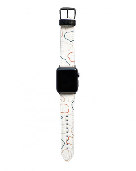 Abstract Outline - Apple Watch Strap
