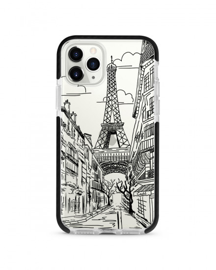 X-TECH BUMPER CASE - Romantic Paris